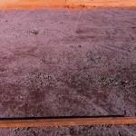 Sanierung Grundüberholung Tennisplatz - Einbau Ziegelmehl in einschichtiger Bauweise