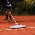 Frühjahrsinstandsetzung Frühjahrsüberholung Tennisplatz
